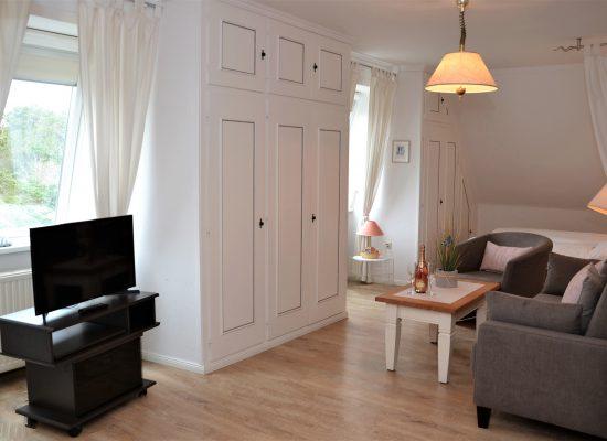 Appartement in Nordlage mit Einbauschänken